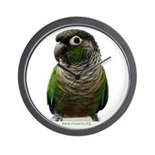 Green-Cheek Conure Wall Clock