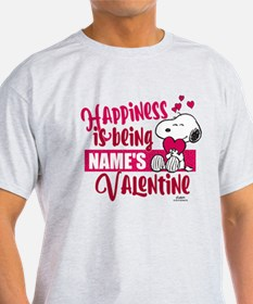 Snoopy Happiness is Being - Personal T-Shirt