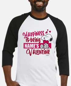 Snoopy Happiness is Being - Person Baseball Jersey