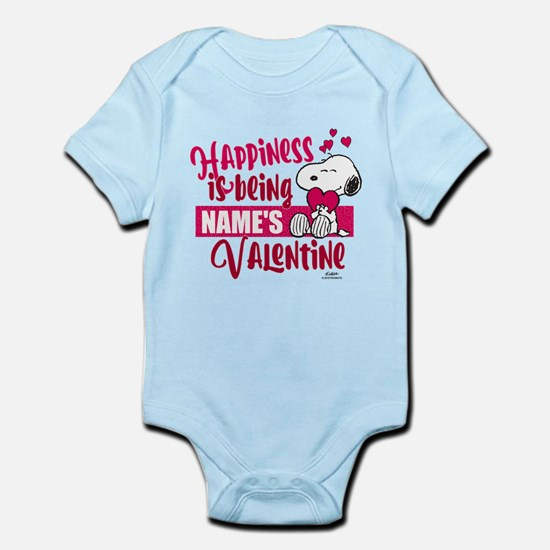 Snoopy Happiness is Being - Person Infant Bodysuit