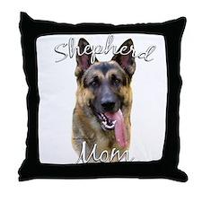 GSD Mom2 Throw Pillow