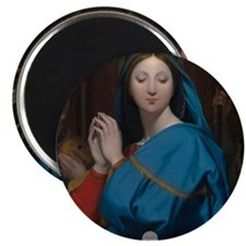 The Virgin Adoring the Host Magnets
