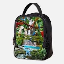 Parrots Neoprene Lunch Bag