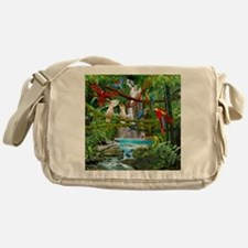 Unique Parrots Messenger Bag
