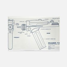 Star Trek Phaser Two Magnets