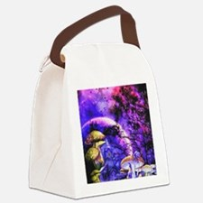 Cool Surreal Canvas Lunch Bag