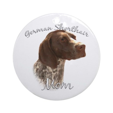 GSP Mom2 Ornament (Round)