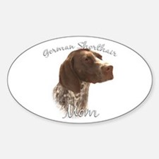 GSP Mom2 Oval Decal