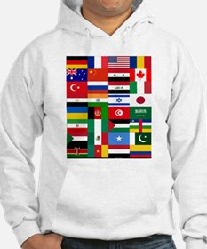 Country Flags Jumper Hoody