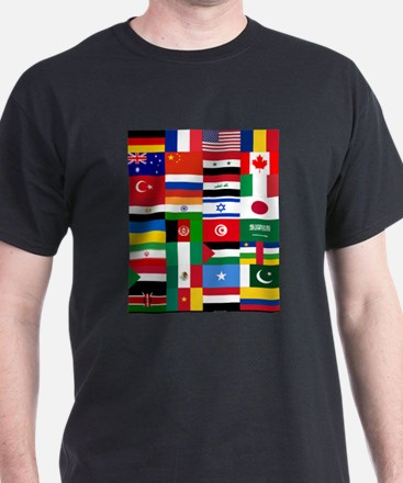 Country Flags T-Shirt
