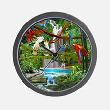 Cute Jungle Wall Clock