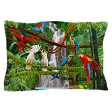 Cute Macaw Pillow Case
