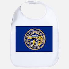 Nebraska State Flag 2 Bib