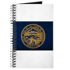 Nebraska State Flag VINTAGE Journal