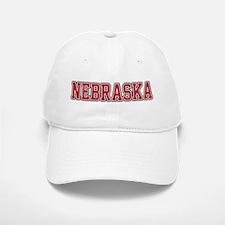 Nebraska Jersey Red Baseball Baseball Cap