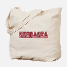 Nebraska Jersey Red Tote Bag