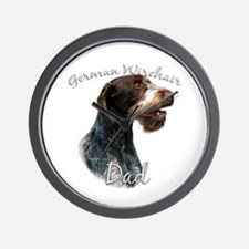 Wirehaired Dad2 Wall Clock