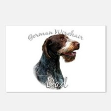 Wirehaired Dad2 Postcards (Package of 8)