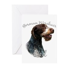 Wirehaired Dad2 Greeting Cards (Pk of 10)