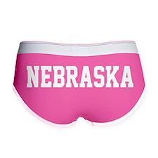 Nebraska Jersey White Women's Boy Brief