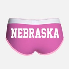 Nebraska Jersey White Women's Boy Brief