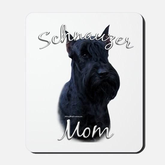 Schnauzer Mom2 Mousepad