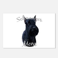 Schnauzer Mom2 Postcards (Package of 8)