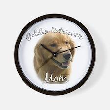 Golden Mom 2 Wall Clock