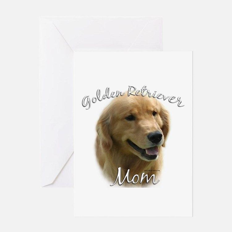 Golden Mom 2 Greeting Card