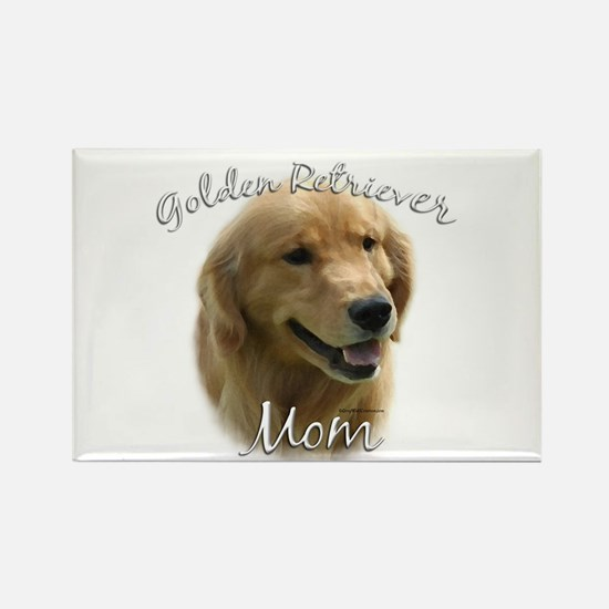 Golden Mom 2 Rectangle Magnet