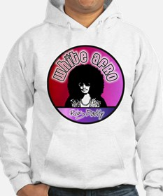 White Afro Rig Daddy Hoodie