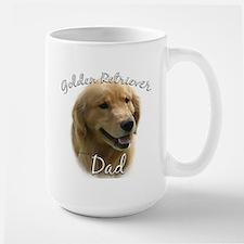 Golden Dad2 Large Mug