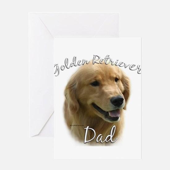 Golden Dad2 Greeting Card