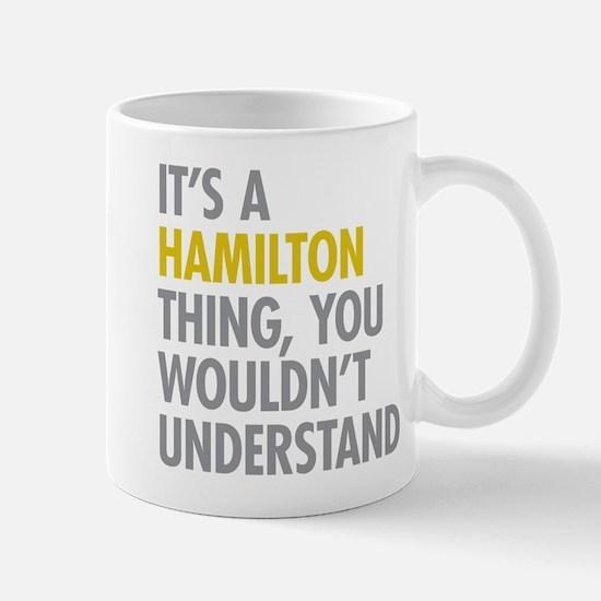 Hamilton Thing Mugs