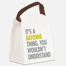 Bayonne Thing Canvas Lunch Bag