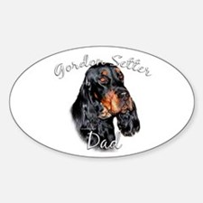 Gordon Dad2 Oval Decal