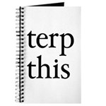 Terp This Journal