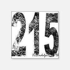 Philadelphia Area Code 215 Sticker