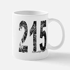 Philadelphia Area Code 215 Mugs