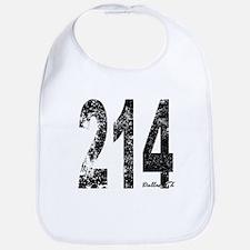Dallas Area Code 214 Bib