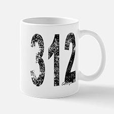 Chicago Area Code 312 Mugs