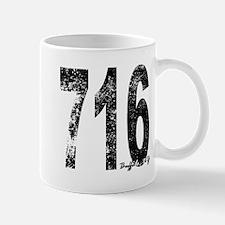 Buffalo Area Code 716 Mugs