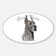 Dane Mom2 Oval Decal