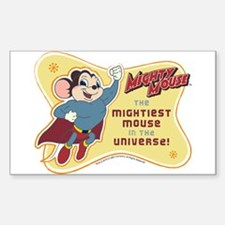 Mightiest Mouse Sticker (Rectangle)