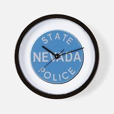 Nevada State Police Wall Clock
