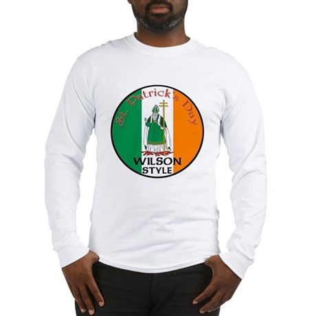 Wilson, St. Patrick's Day Long Sleeve T-Shirt