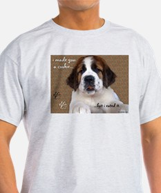 Unique Dog cookie T-Shirt