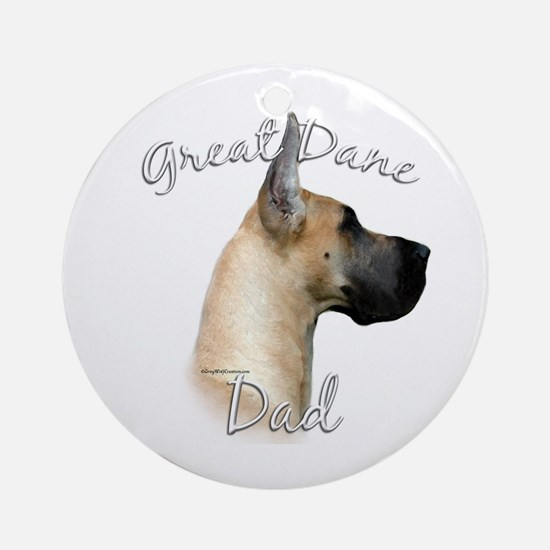 Dane Dad2 Ornament (Round)