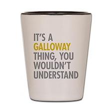 Galloway Thing Shot Glass