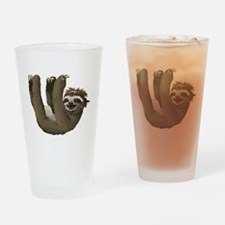 Cool Sloth Drinking Glass